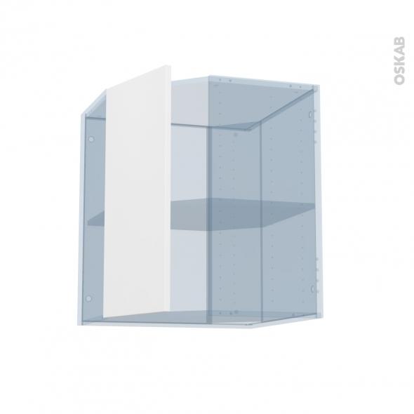 GINKO Blanc - Kit Rénovation 18 - Meuble angle haut - 1 porte N°77 L32 - L60xH70xP37,5