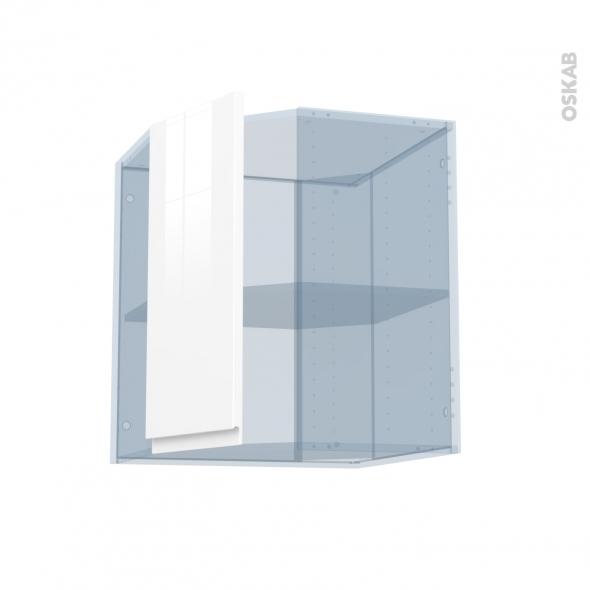 ipoma blanc brillant kit r novation 18 meuble angle haut 1 porte n 77 l32 l60xh70xp37 5 oskab. Black Bedroom Furniture Sets. Home Design Ideas