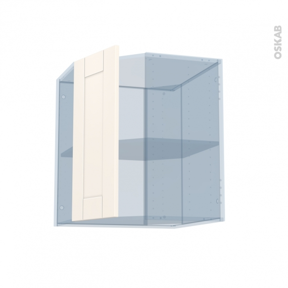 FILIPEN Ivoire - Kit Rénovation 18 - Meuble angle haut - 1 porte N°77 L32 - L60xH70xP37,5