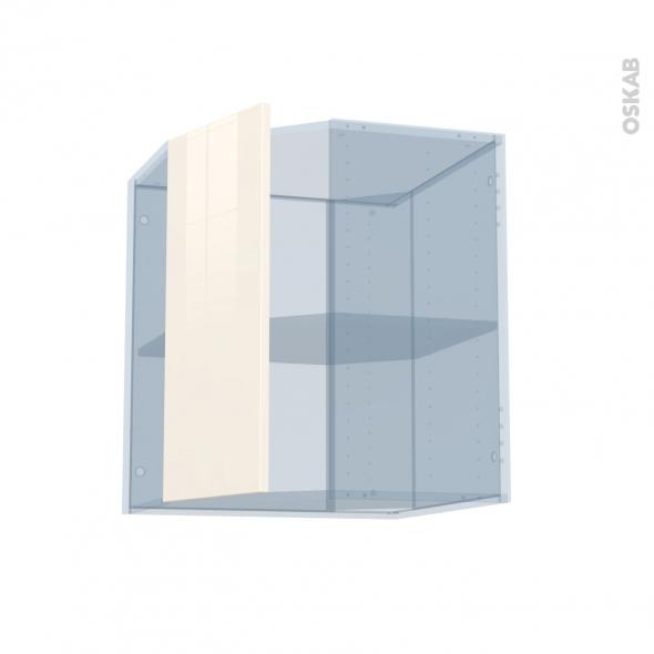 KERIA Ivoire - Kit Rénovation 18 - Meuble angle haut - 1 porte N°77 L32 - L60xH70xP37,5