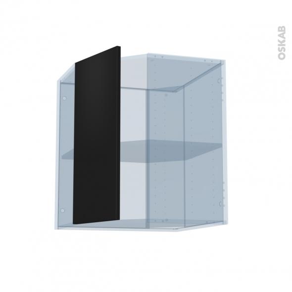 GINKO Noir - Kit Rénovation 18 - Meuble angle haut - 1 porte N°77 L32 - L60xH70xP37,5