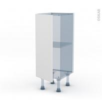 GINKO Blanc - Kit Rénovation 18 - Meuble bas prof.37 - 1 porte - L30xH70xP37,5