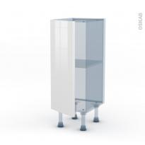 STECIA Blanc - Kit Rénovation 18 - Meuble bas prof.37  - 1 porte - L30xH70xP37,5