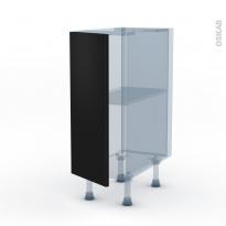 GINKO Noir - Kit Rénovation 18 - Meuble bas cuisine  - 1 porte - L30xH70xP60