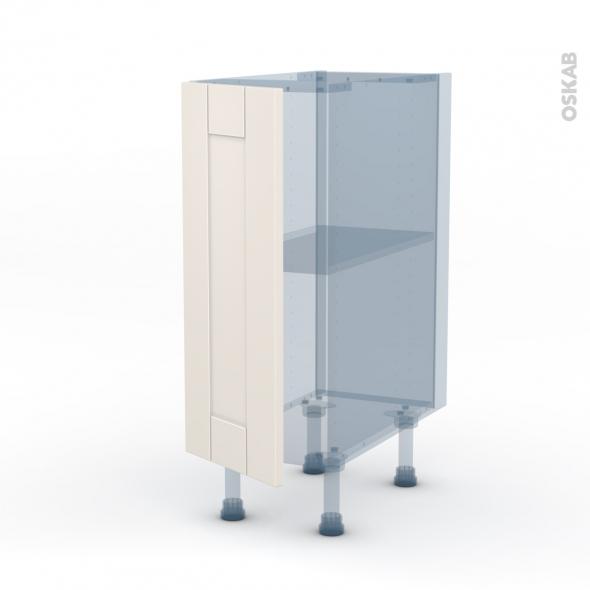 filipen ivoire kit r novation 18 meuble bas cuisine 1 porte l30xh70xp60 oskab. Black Bedroom Furniture Sets. Home Design Ideas