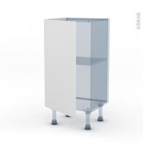 GINKO Blanc - Kit Rénovation 18 - Meuble bas prof.37 - 1 porte - L40xH70xP37,5