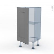 FILIPEN Gris - Kit Rénovation 18 - Meuble bas prof.37  - 1 porte - L40xH70xP37,5