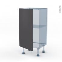 GINKO Gris - Kit Rénovation 18 - Meuble bas prof.37  - 1 porte - L40xH70xP37,5