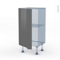 STECIA Gris - Kit Rénovation 18 - Meuble bas prof.37  - 1 porte - L40xH70xP37,5