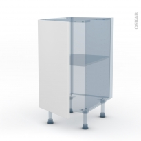 GINKO Blanc - Kit Rénovation 18 - Meuble bas cuisine - 1 porte - L40xH70xP60