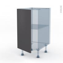 GINKO Gris - Kit Rénovation 18 - Meuble bas cuisine  - 1 porte - L40xH70xP60