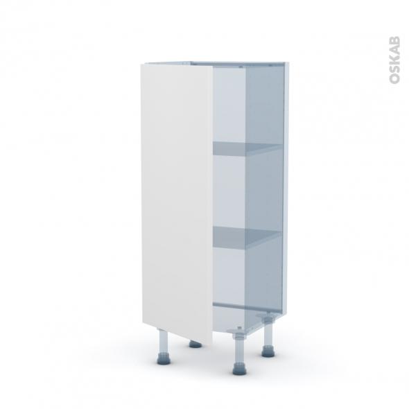 GINKO Blanc - Kit Rénovation 18 - Meuble bas prof.37 - 1 porte - L40xH92xP37,5