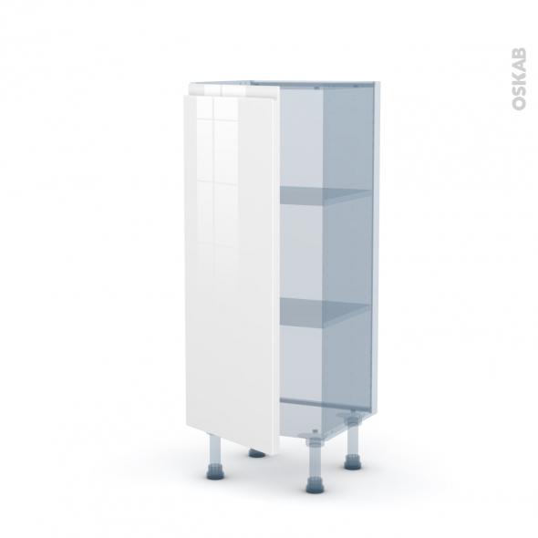 IPOMA Blanc - Kit Rénovation 18 - Meuble bas prof.37  - 1 porte - L40xH92xP37,5