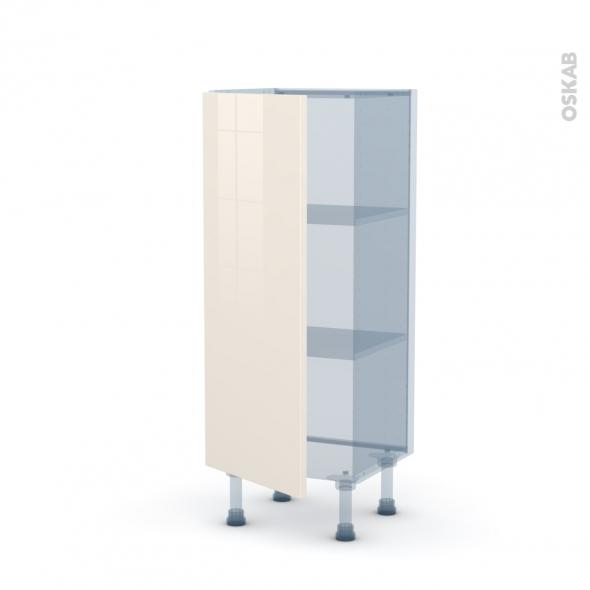 keria ivoire kit r novation 18 meuble bas 1 porte l40xh92xp37 5 oskab. Black Bedroom Furniture Sets. Home Design Ideas