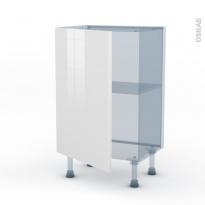 STECIA Blanc - Kit Rénovation 18 - Meuble bas prof.37  - 1 porte - L50xH70xP37,5