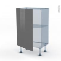 STECIA Gris - Kit Rénovation 18 - Meuble bas prof.37  - 1 porte - L50xH70xP37,5