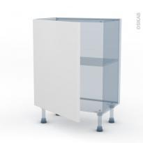 GINKO Blanc - Kit Rénovation 18 - Meuble bas prof.37 - 1 porte - L60xH70xP37,5