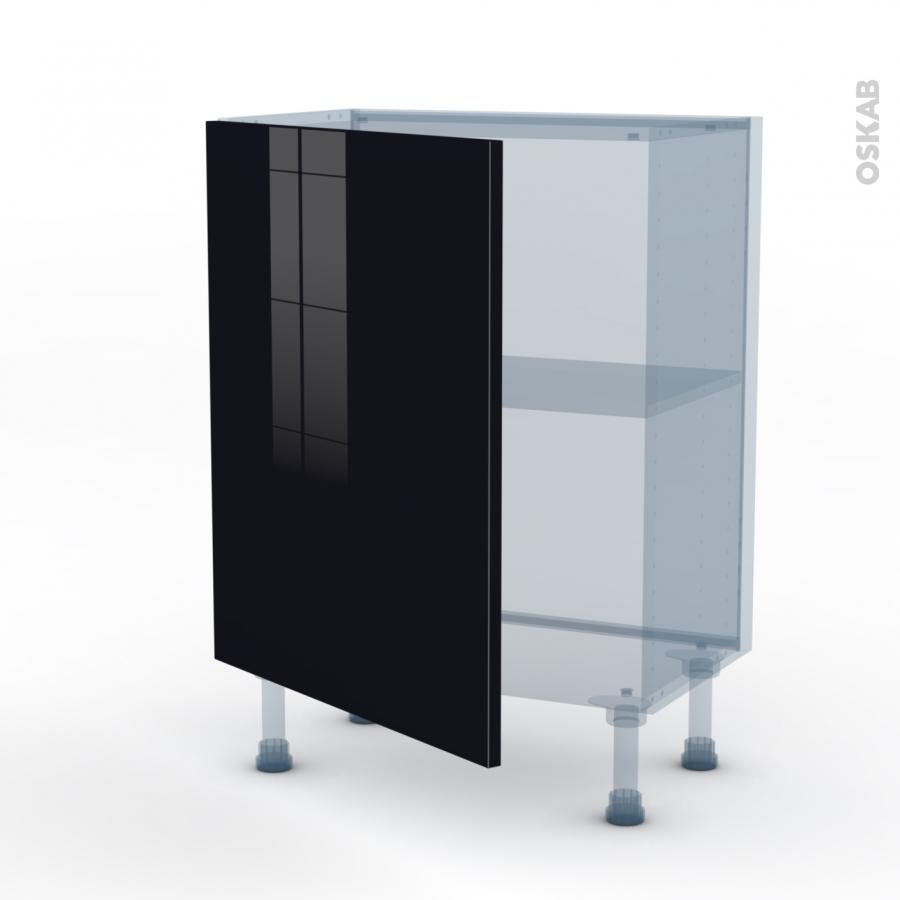 keria noir kit r novation 18 meuble bas 1 porte
