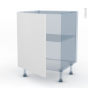 GINKO Blanc - Kit Rénovation 18 - Meuble bas cuisine - 1 porte - L60xH70xP60