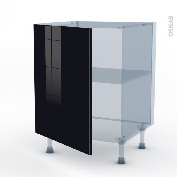 keria noir kit rnovation 18 meuble bas cuisine 1 porte l60xh70xp60