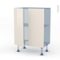 KERIA Ivoire - Kit Rénovation 18 - Meuble bas prof.37 - 2 portes - L60xH70xP37,5