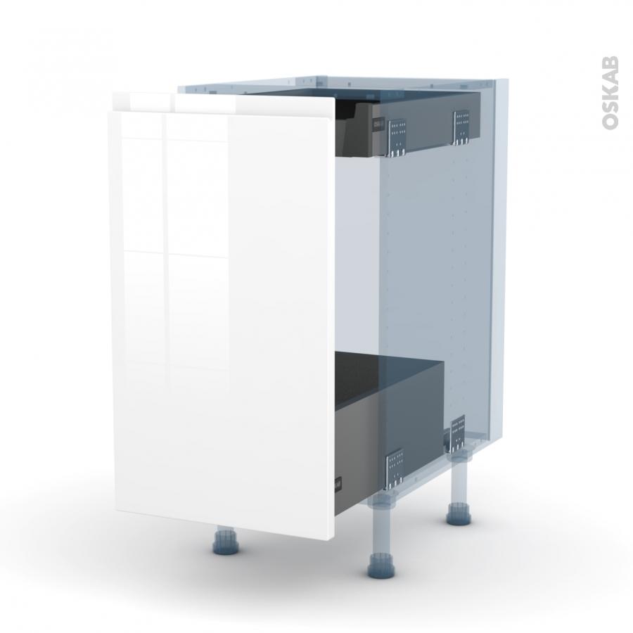 ipoma blanc kit r novation 18 meuble bas coulissant 1. Black Bedroom Furniture Sets. Home Design Ideas