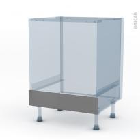 FILIPEN Gris - Kit Rénovation 18 - Meuble bas four  - bandeau bas - L60xH70xP60