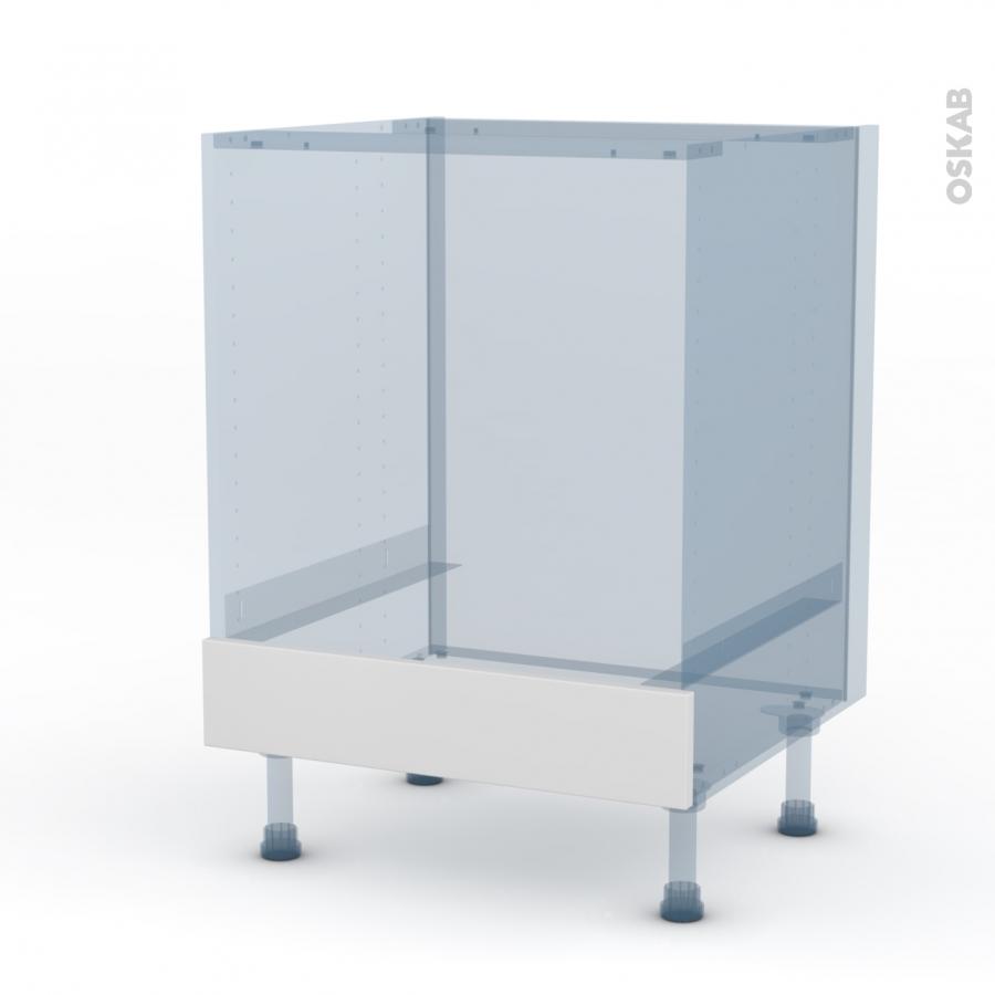 Ginko Blanc Kit R Novation 18 Meuble Bas Four Bandeau Bas