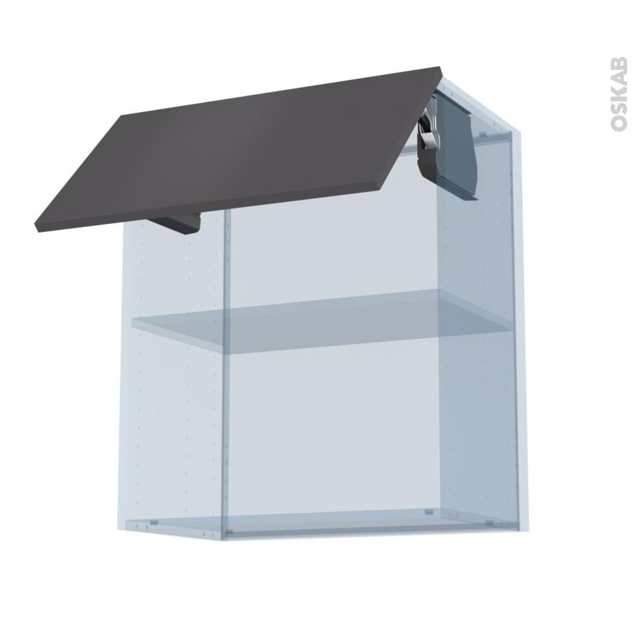 Ginko gris kit r novation 18 meuble haut mo niche 36 38 1 Boitier relevant pour double porte de meuble cuisine