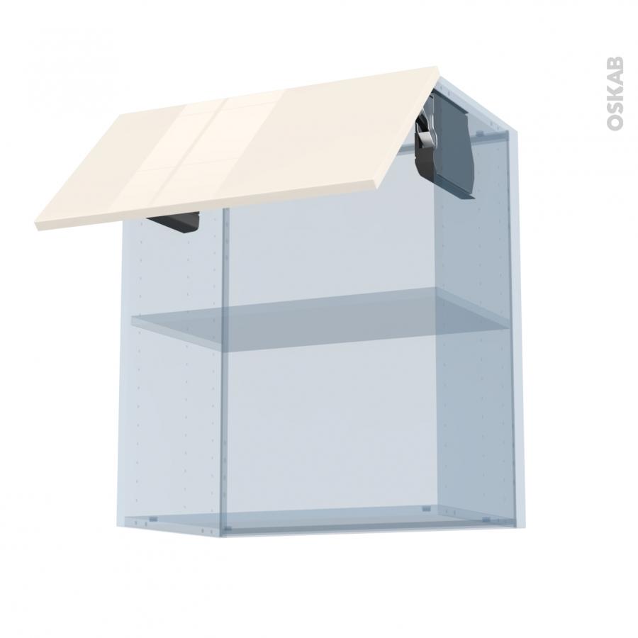 keria ivoire kit r novation 18 meuble haut mo niche 36 38 1 porte l60xh70xp37 5 oskab. Black Bedroom Furniture Sets. Home Design Ideas