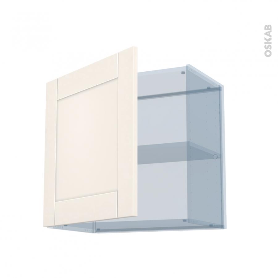 filipen ivoire kit r novation 18 meuble haut ouvrant h57 1 porte l60xh57xp37 5 oskab. Black Bedroom Furniture Sets. Home Design Ideas