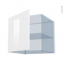 STECIA Blanc - Kit Rénovation 18 - Meuble haut ouvrant H57 - 1 porte - L60xH57xP60