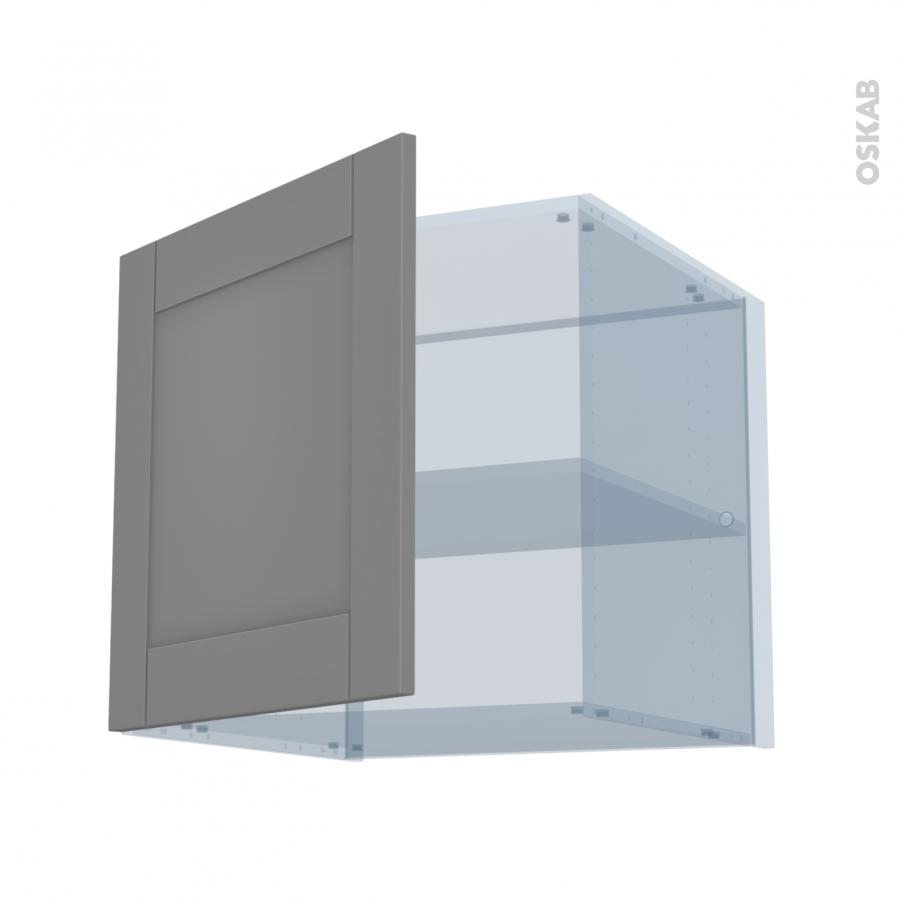 filipen gris kit r novation 18 meuble haut ouvrant h57 1 porte l60xh57xp60 oskab. Black Bedroom Furniture Sets. Home Design Ideas