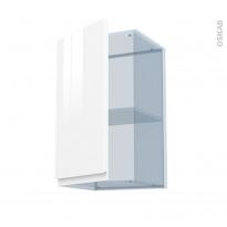 IPOMA Blanc - Kit Rénovation 18 - Meuble haut ouvrant H70  - 1 porte - L40xH70xP37,5