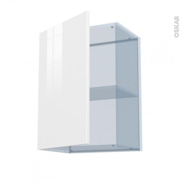 STECIA Blanc - Kit Rénovation 18 - Meuble haut ouvrant H70  - 1 porte - L50xH70xP37,5