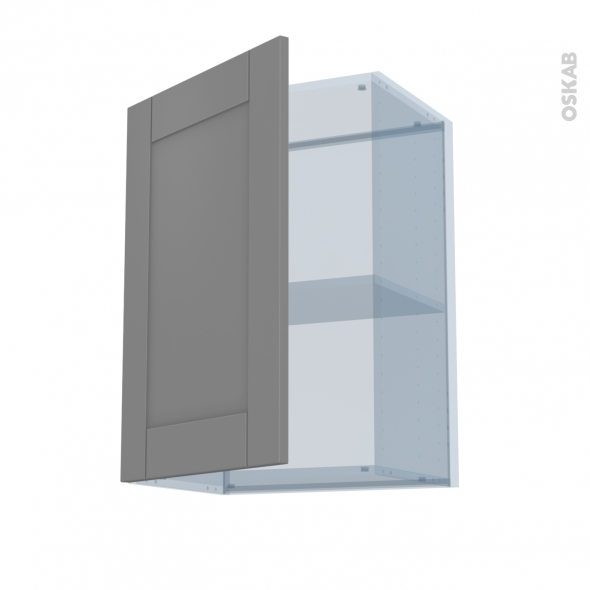 filipen gris kit r novation 18 meuble haut ouvrant h70 1 porte l50xh70xp37 5 oskab. Black Bedroom Furniture Sets. Home Design Ideas