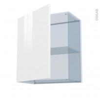 STECIA Blanc - Kit Rénovation 18 - Meuble haut ouvrant H70  - 1 porte - L60xH70xP37,5