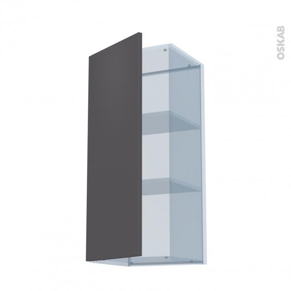 GINKO Gris - Kit Rénovation 18 - Meuble haut ouvrant H92  - 1 porte - L40xH92xP37,5