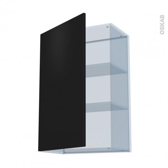 GINKO Noir - Kit Rénovation 18 - Meuble haut ouvrant H92  - 1 porte - L60xH92xP37,5