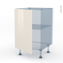 KERIA Ivoire - Kit Rénovation 18 - Meuble sous-évier  - 1 porte - L50xH70xP60