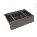 HAKEO - Rangement 3 bacs - Pour meuble prof 50