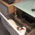 Kit séparateur tiroir - L60 cm - HAKEO