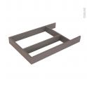 Structure de tiroir - Pour meuble prof 40 cm - Taille L - HAKEO