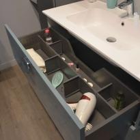 Kit séparateur tiroir - L100 cm - HAKEO