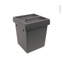Poubelle 5L - Tiroir de salle de bains - HAKEO