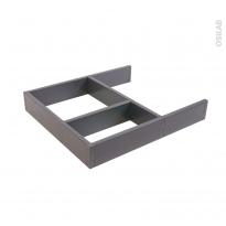 Structure de tiroir - Pour meuble prof 40 cm - Taille S - HAKEO