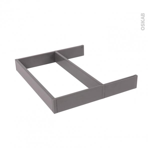 Structure de tiroir - Pour meuble prof 50 cm - Taille S - HAKEO