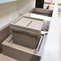 HAKEO - Kit poubelle tiroir bas - Pour meuble prof 40