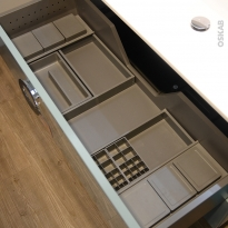 Organisateur de tiroir - Kit de rangement n°14 - L100 x P50 cm - HAKEO