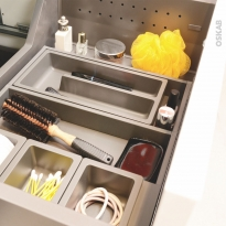 HAKEO - Organisateur de tiroir L60xP50 - Kit n°7